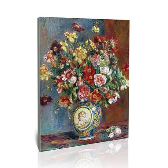 אגרטל ופרחים