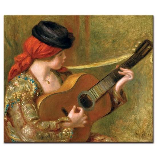 ספרדיה צעירה עם גיטרה