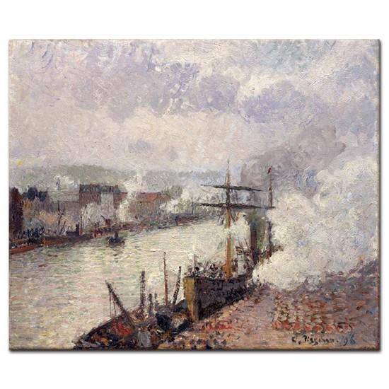 סירות קיטור בנמל רואן