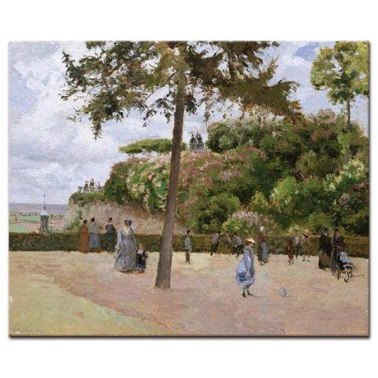 הגינה הציבורית בפונטואז