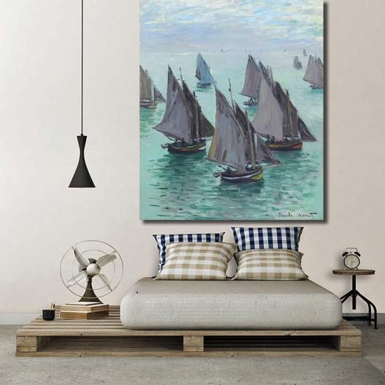 סירות דיג, ים רגוע