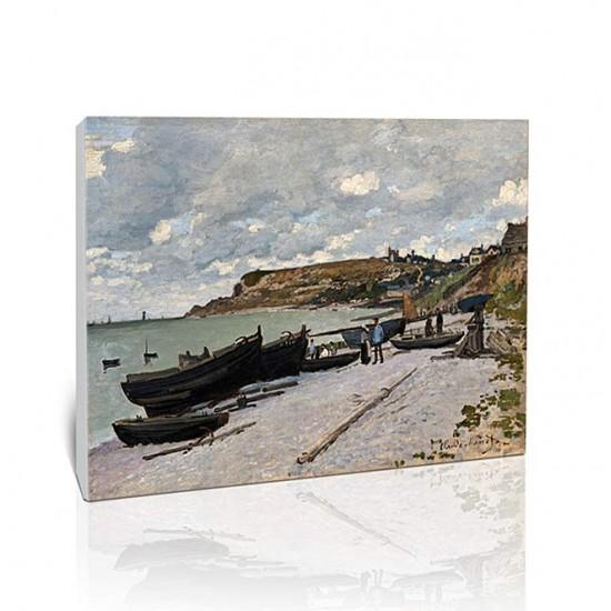 סירות דיג על החוף, סנט אדרס