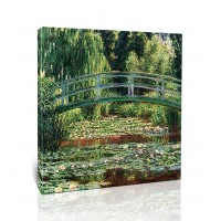 הגשר היפני ובריכת שושני המים, ג'יברני