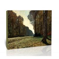 הדרך לצ'יילי ביער פונטנבלו