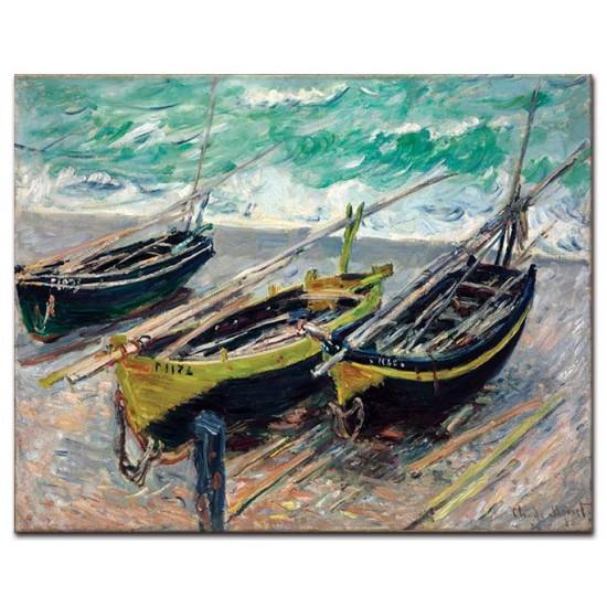 שלוש סירות דיג