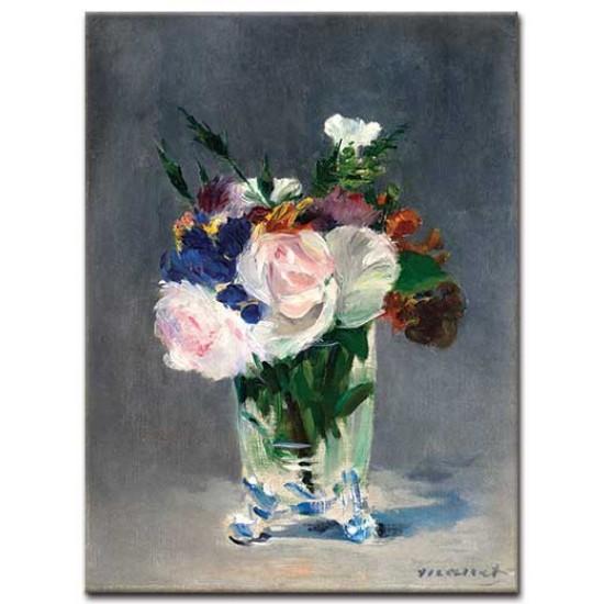 פרחים באגרטל קריסטל
