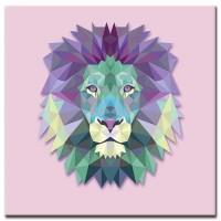 אריה סגול
