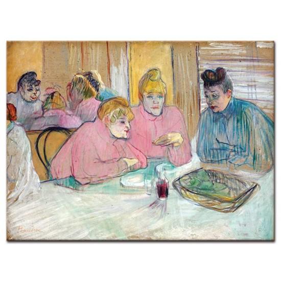 גברות בחדר האוכל