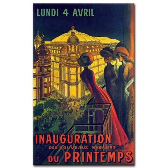 Inauguration du Printemps
