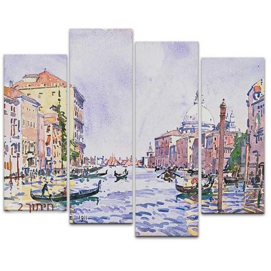 ונציה, אחר צהריים בתעלה הגדולה