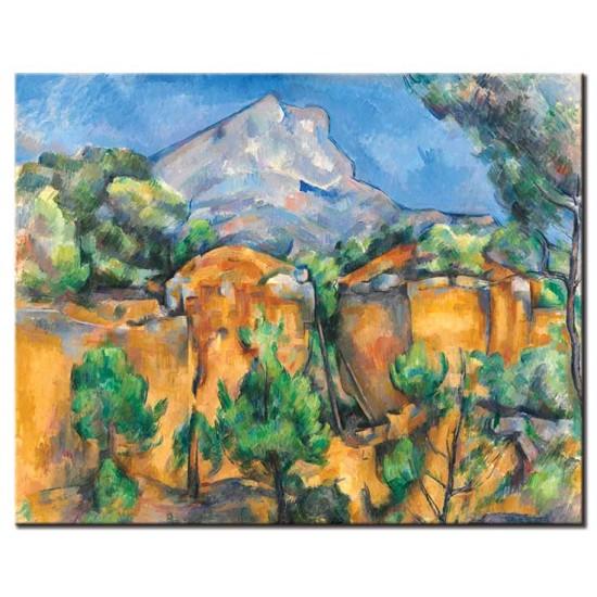 הר סנט ויקטואר ,מראה ממחצבת ביבמוס