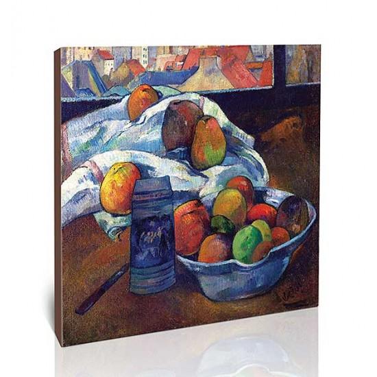 קערת פירות וקנקן