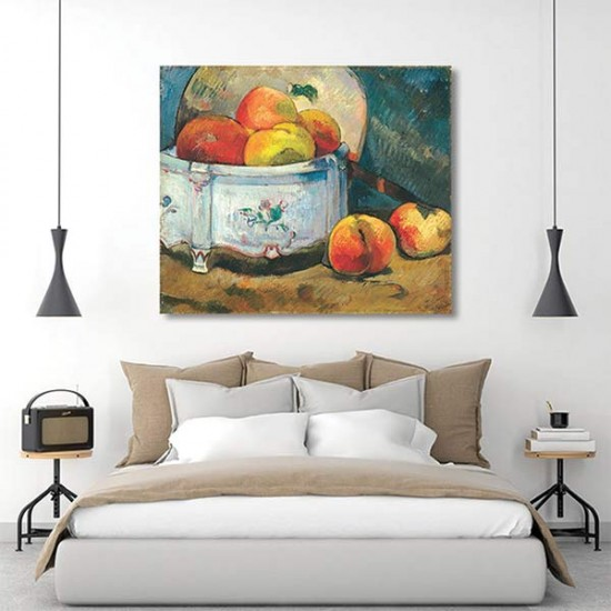 טבע דומם ואפרסקים