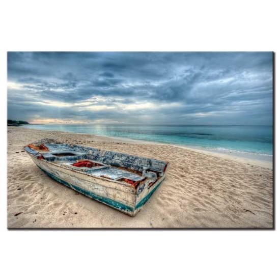 סירה על החוף, איי בהאמה
