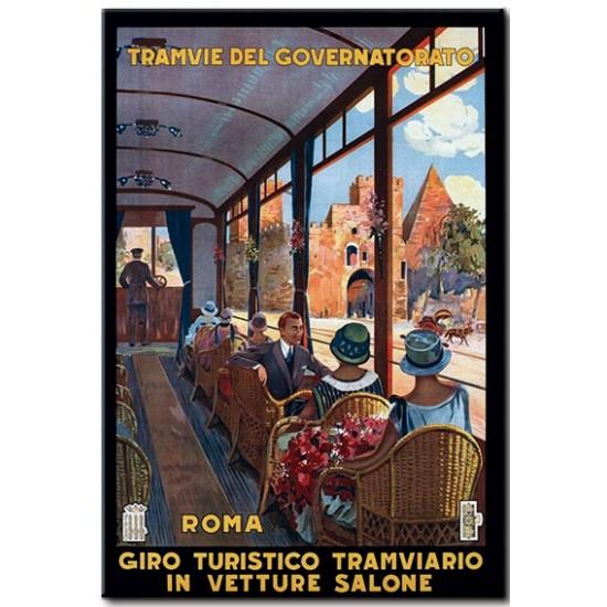 Rome, Sightseeing Tram
