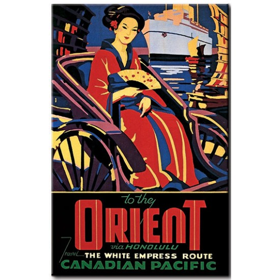 To the Orient via Honolulu