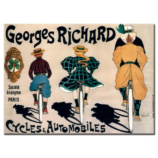 Georges Richard Cycles and Cars