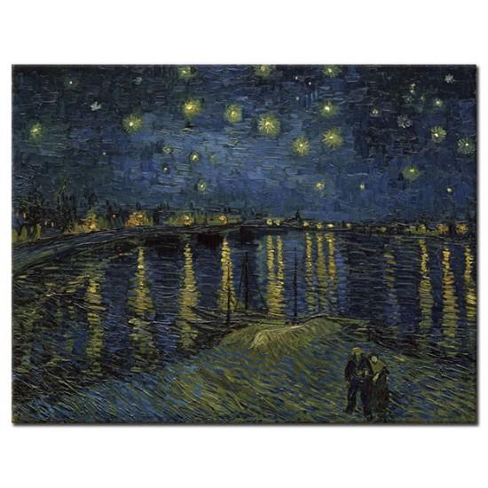 לילה זרוע כוכבים מעל הרון