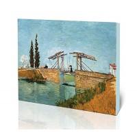 גשר לנגליס בארלס, גברת עם מטריה