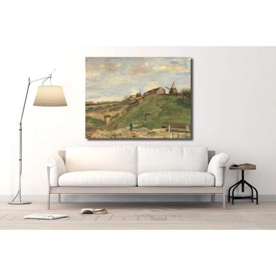 הגבעה במונמארט, מחצבת אבן